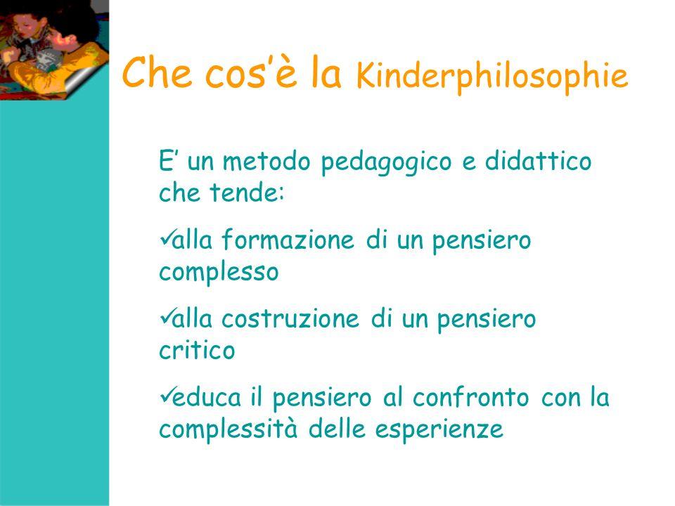 Che cos'è la Kinderphilosophie