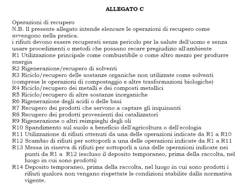 D.L.vo 3/4/2006 n. 152 Testo Unico ambientale