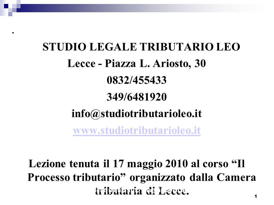 Lecce - Piazza L. Ariosto, 30