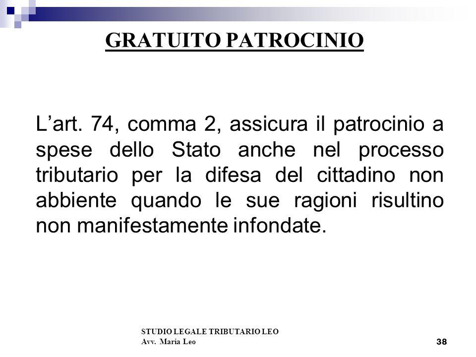 GRATUITO PATROCINIO