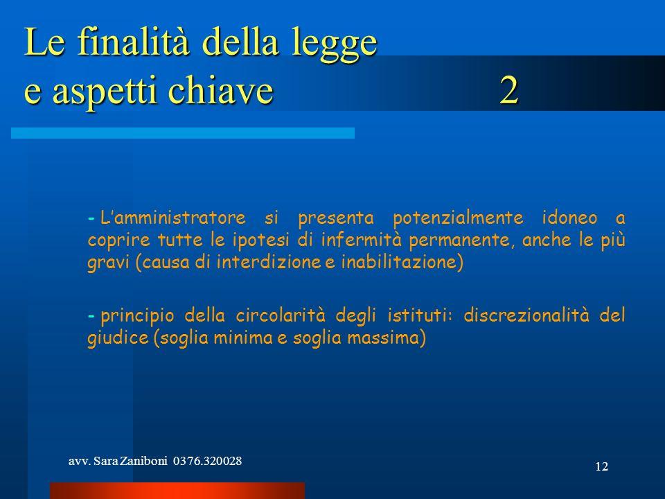 Le finalità della legge e aspetti chiave 2