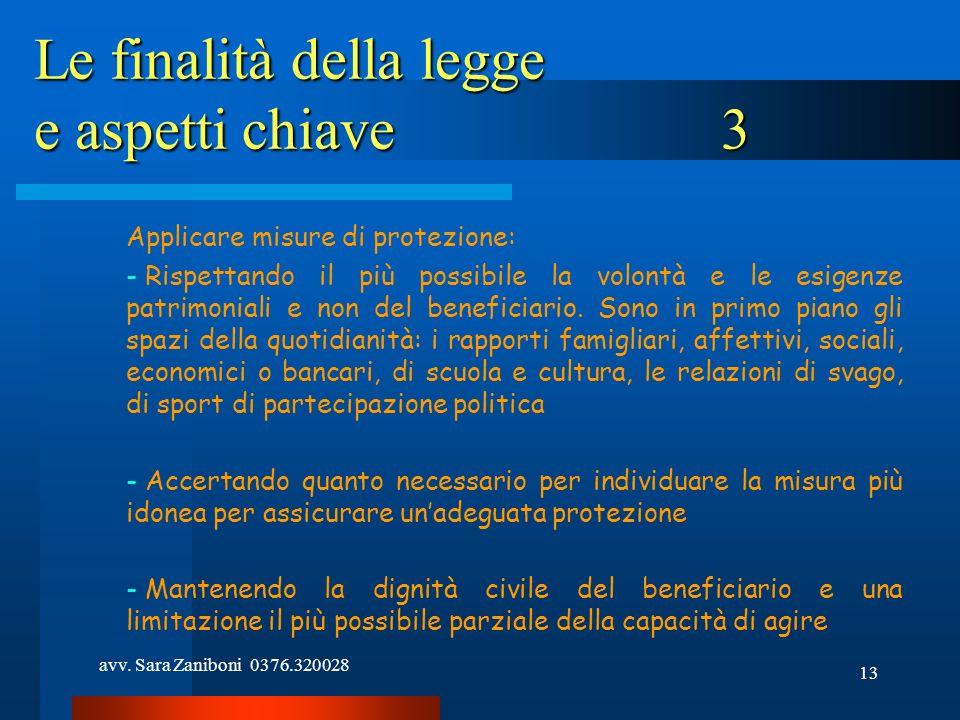 Le finalità della legge e aspetti chiave 3