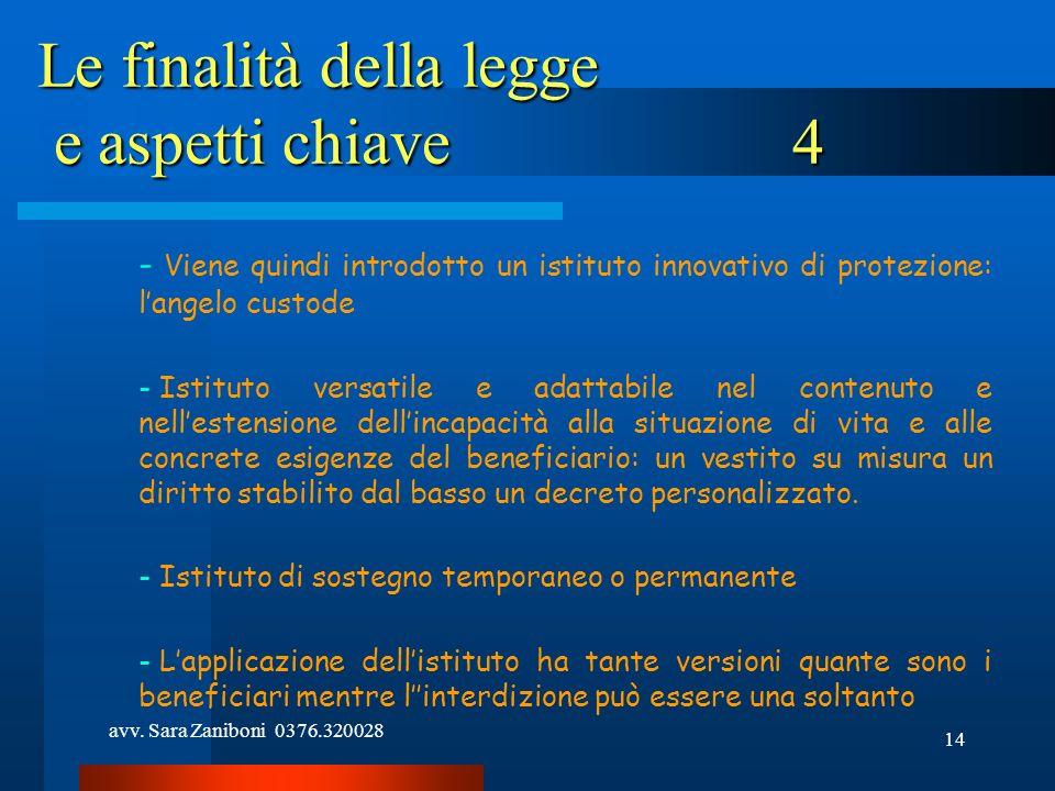 Le finalità della legge e aspetti chiave 4