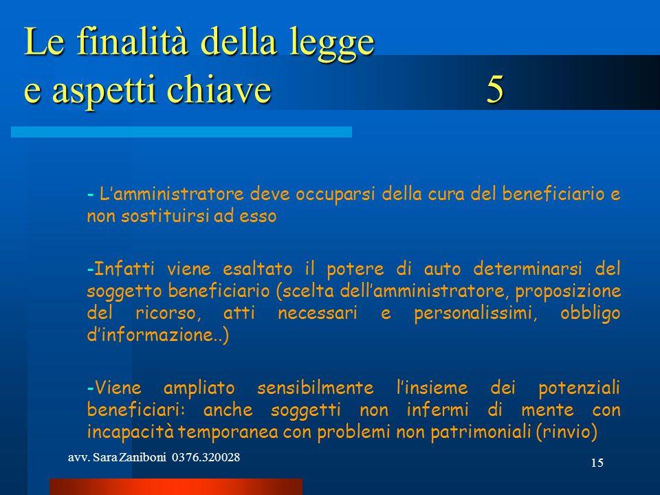 Le finalità della legge e aspetti chiave 5