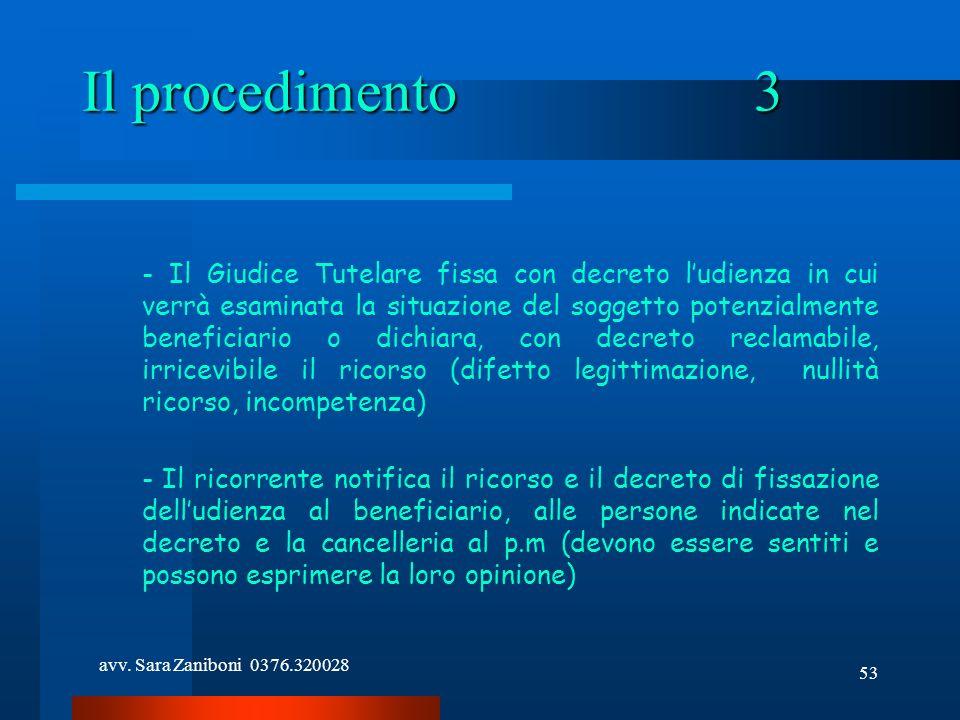 Il procedimento 3