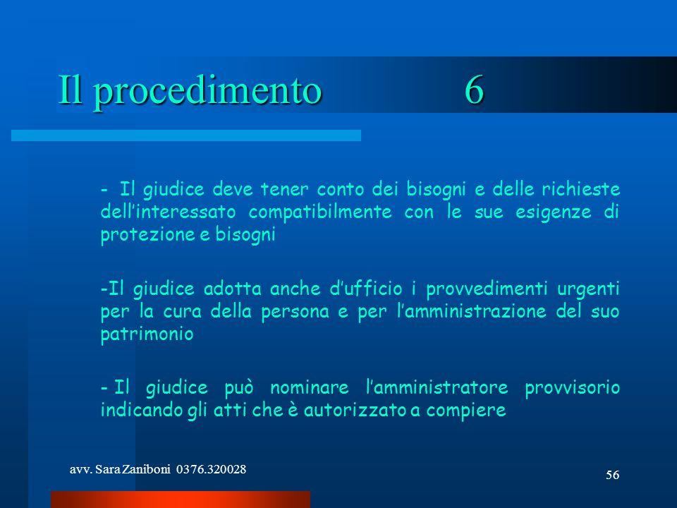 Il procedimento 6