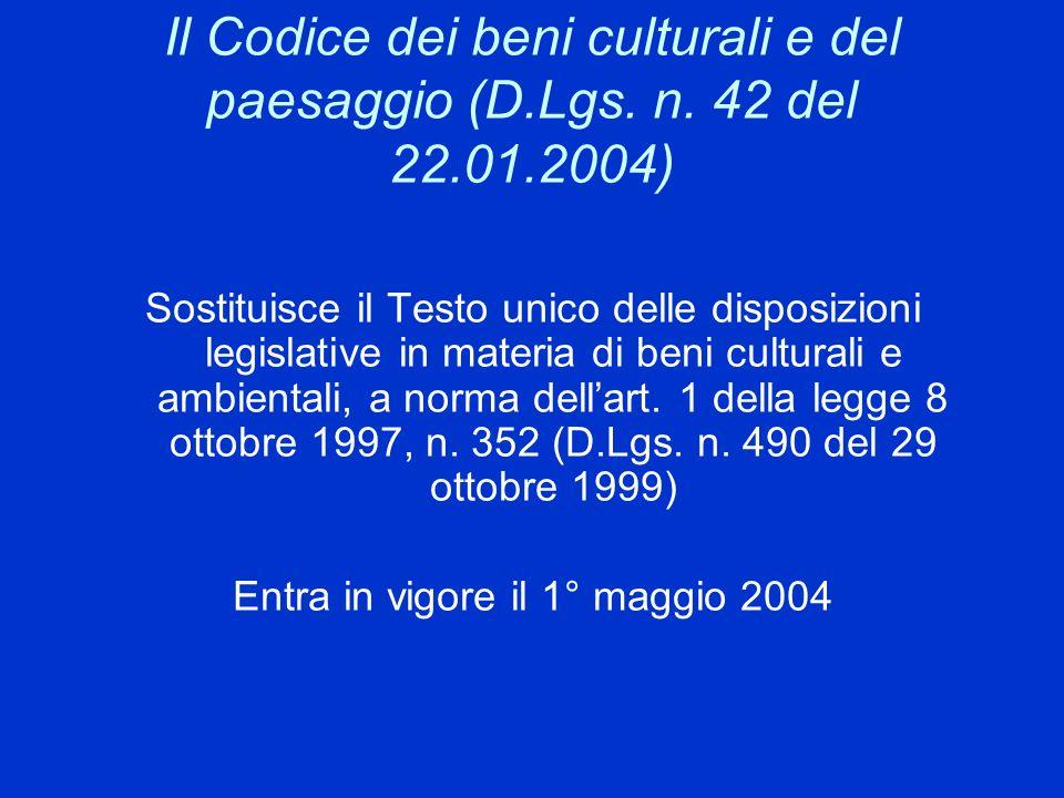 Entra in vigore il 1° maggio 2004