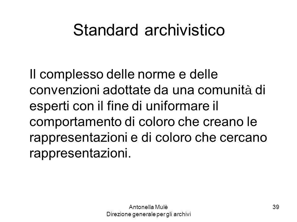 Standard archivistico