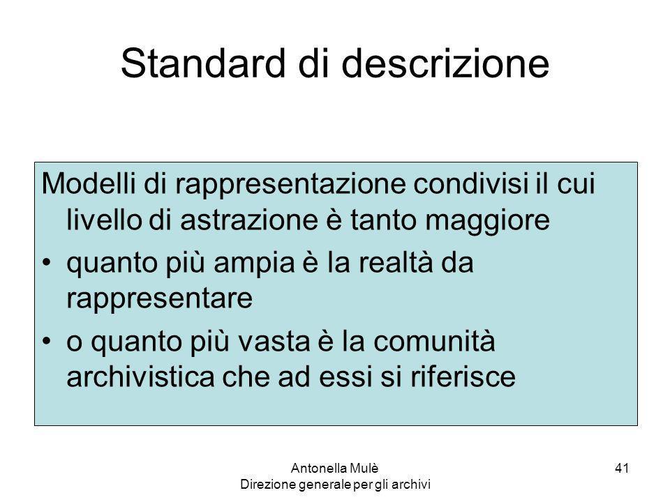 Standard di descrizione