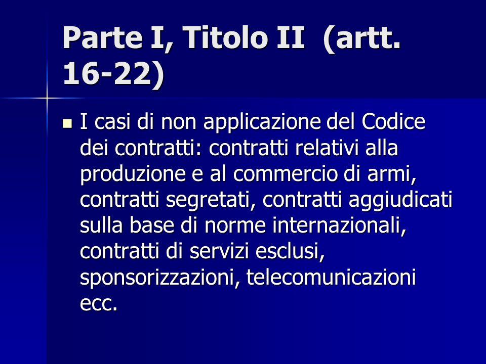 Parte I, Titolo II (artt. 16-22)