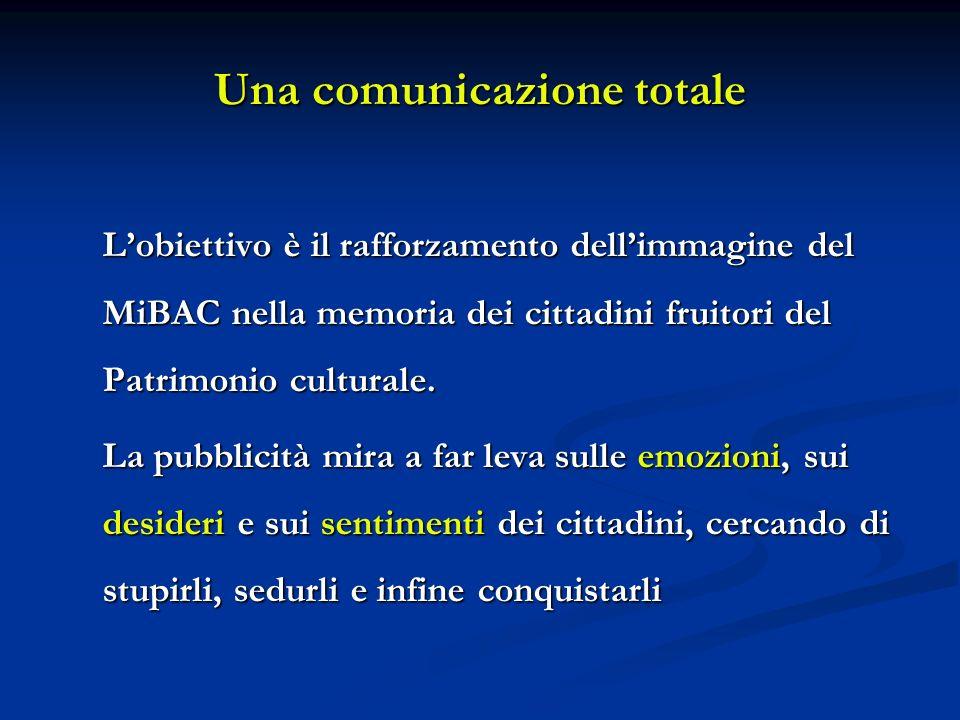 Una comunicazione totale