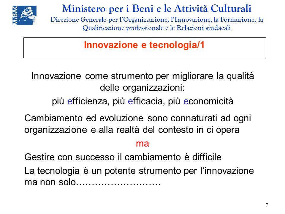 Innovazione e tecnologia/1