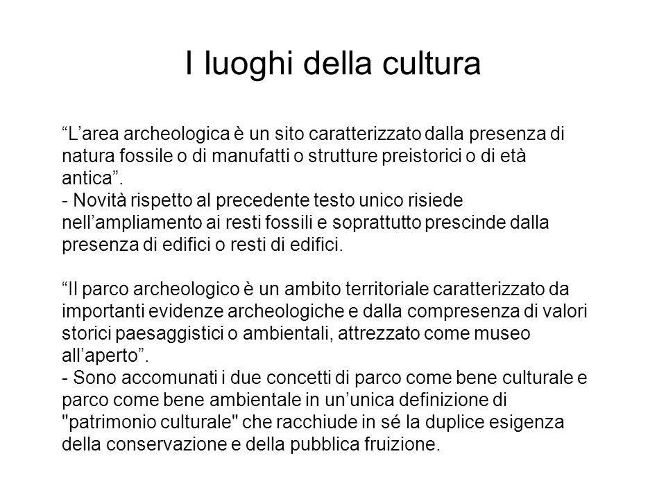 I Iuoghi della cultura