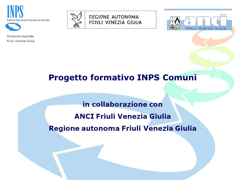 Progetto formativo INPS Comuni