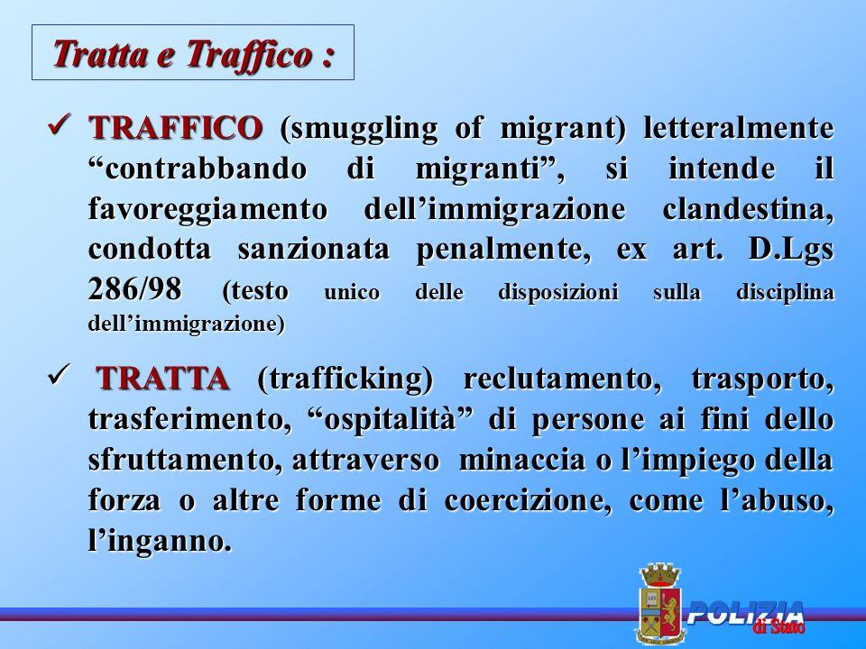 Tratta e Traffico :