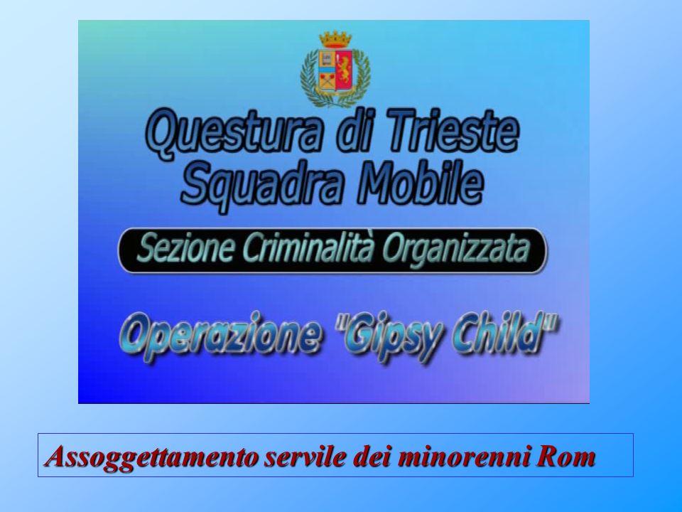 Assoggettamento servile dei minorenni Rom