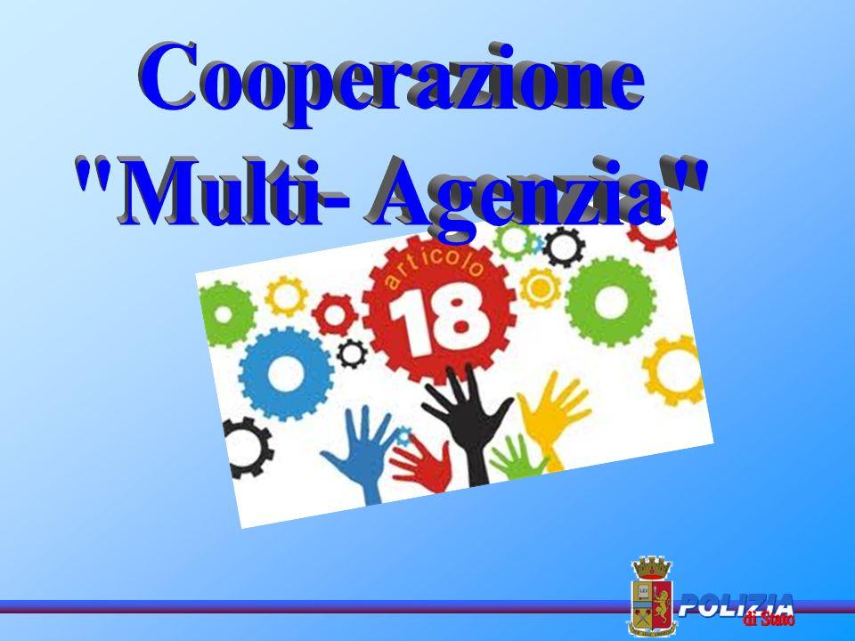 Cooperazione Multi- Agenzia