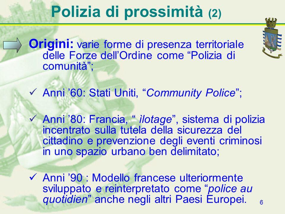 Polizia di prossimità (2)