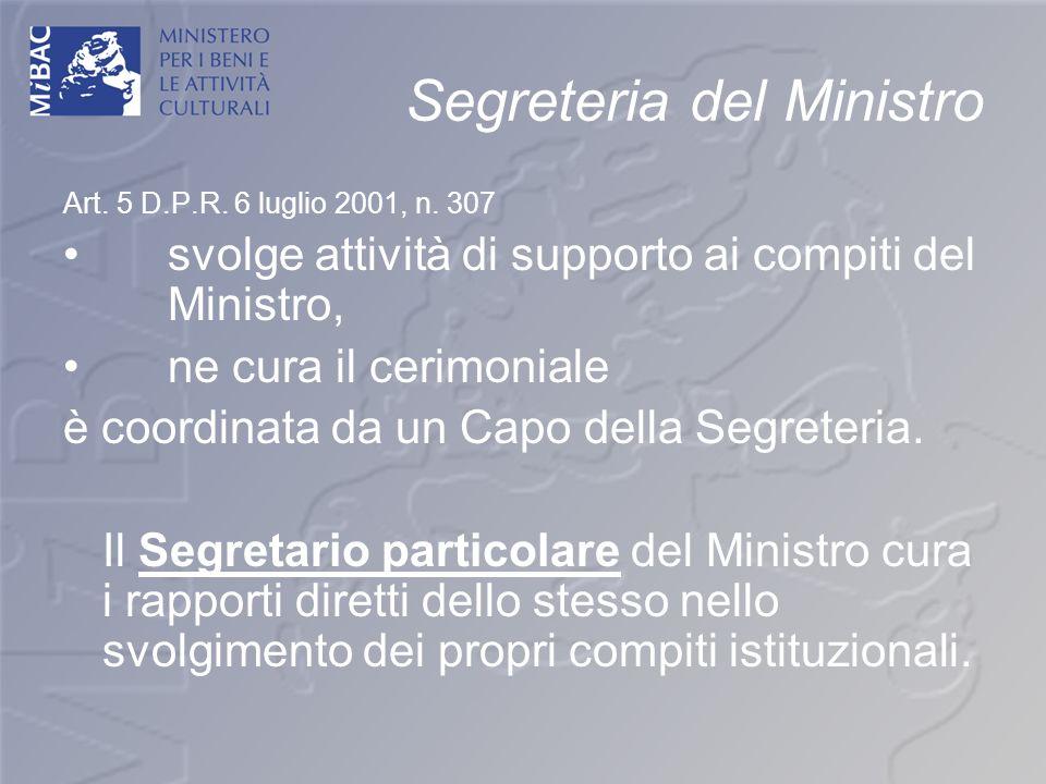 Segreteria del Ministro