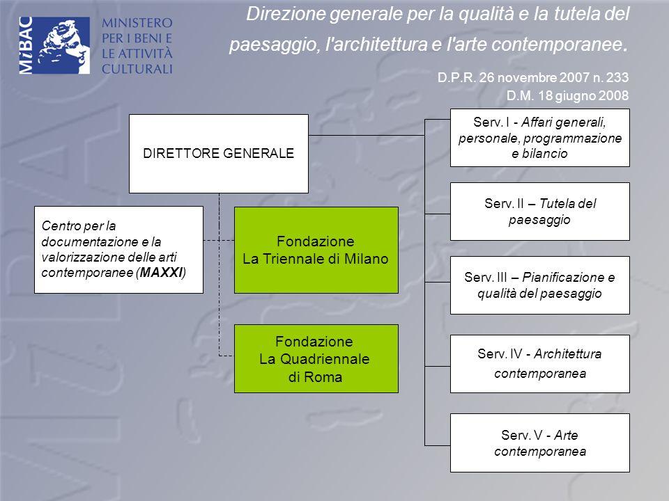 Direzione generale per la qualità e la tutela del