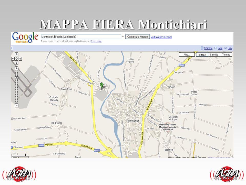 MAPPA FIERA Montichiari
