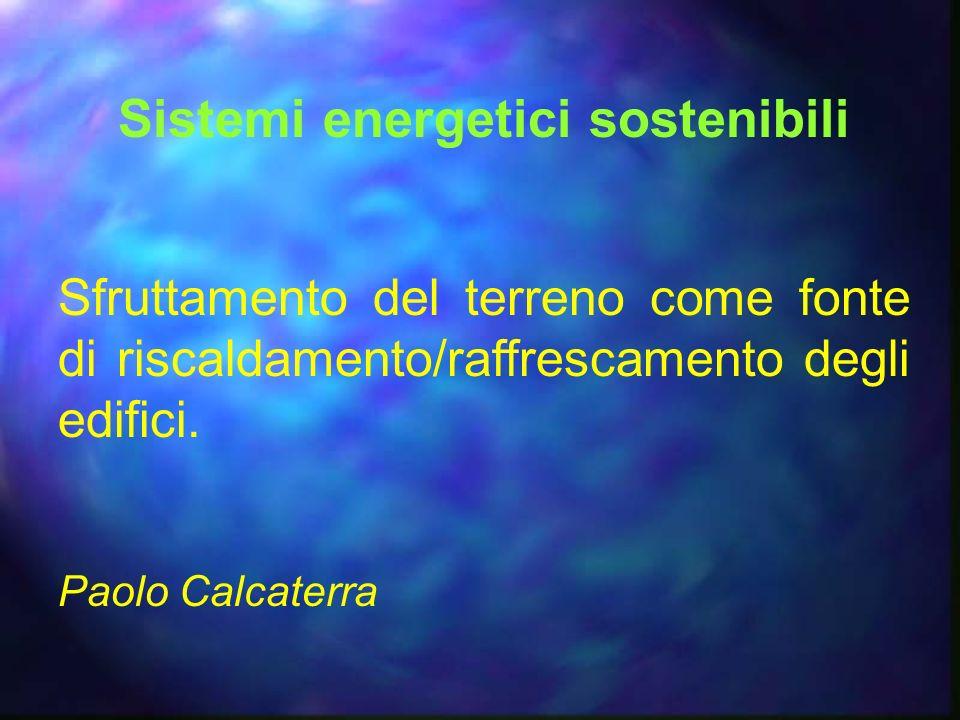 Sistemi energetici sostenibili