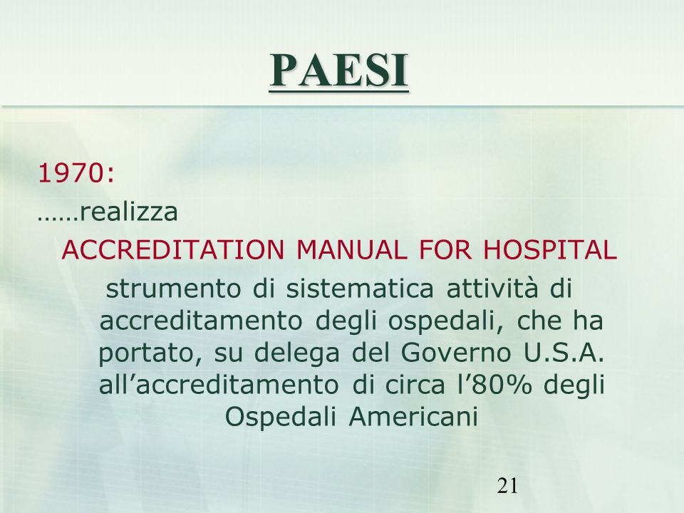 ACCREDITATION MANUAL FOR HOSPITAL