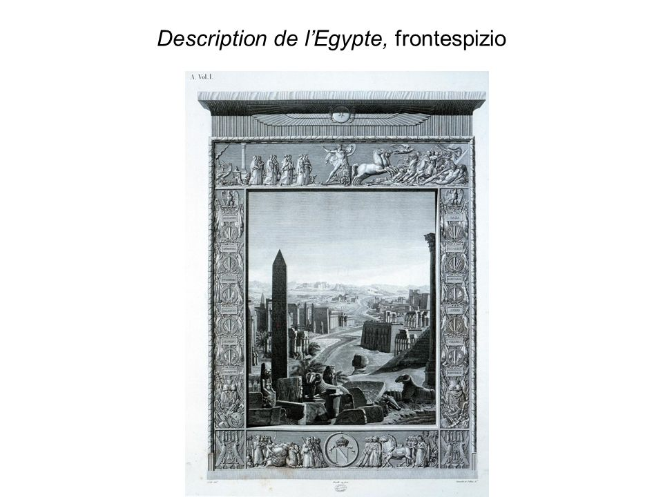 Description de l'Egypte, frontespizio