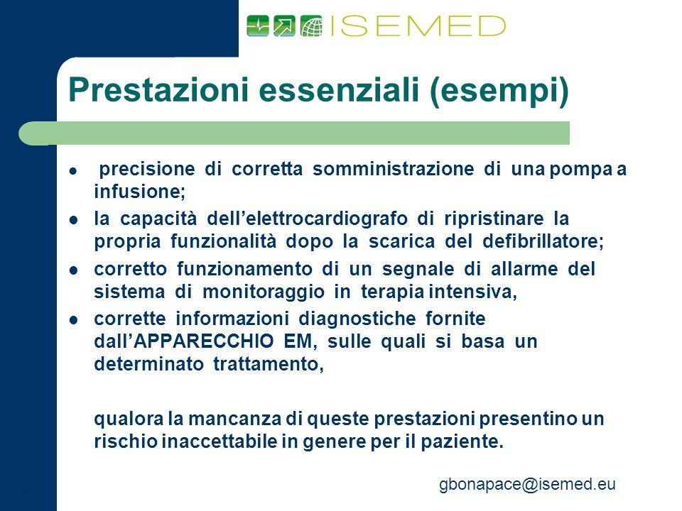 Prestazioni essenziali (esempi)