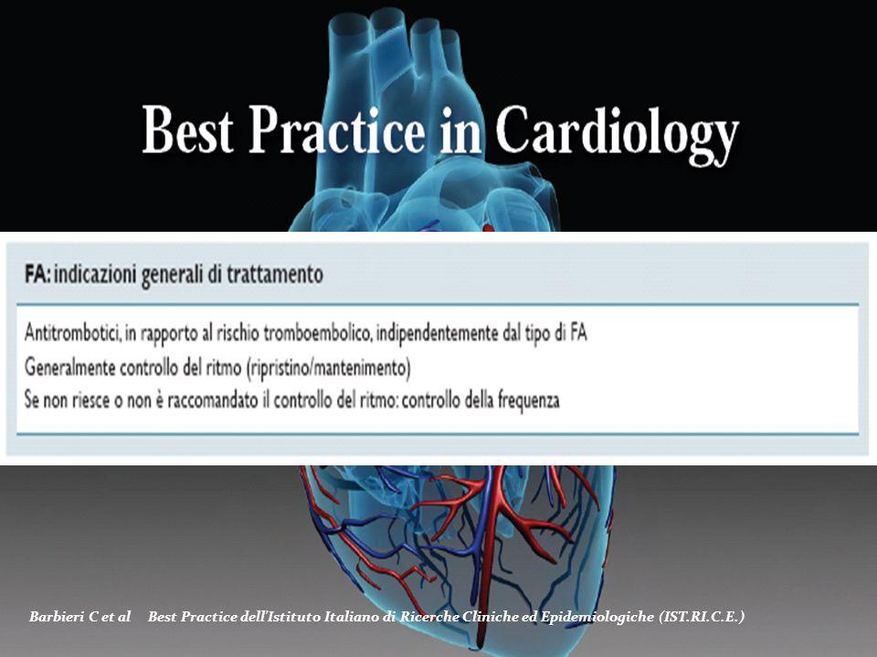 Barbieri C et al Best Practice dell Istituto Italiano di Ricerche Cliniche ed Epidemiologiche (IST.RI.C.E.)
