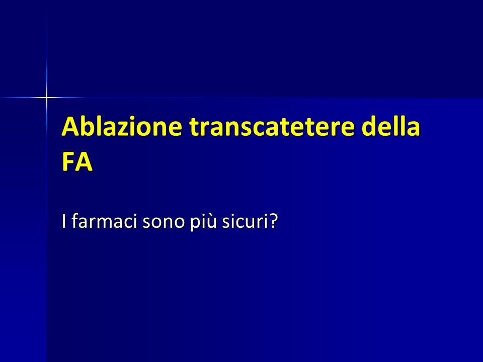 Ablazione transcatetere della FA