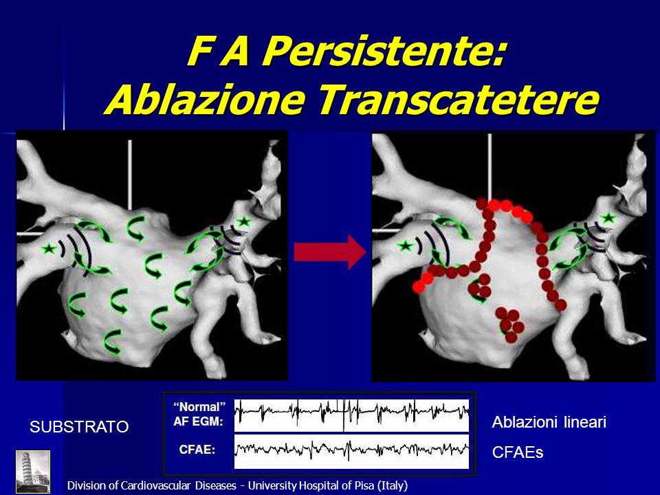 F A Persistente: Ablazione Transcatetere