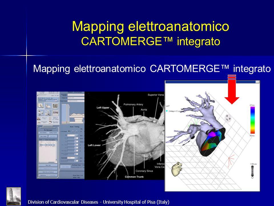 Mapping elettroanatomico CARTOMERGE™ integrato