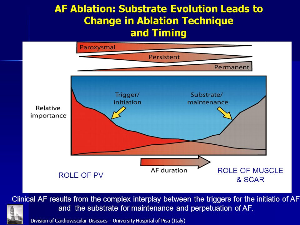 AF Ablation: Substrate Evolution Leads to Change in Ablation Technique and Timing