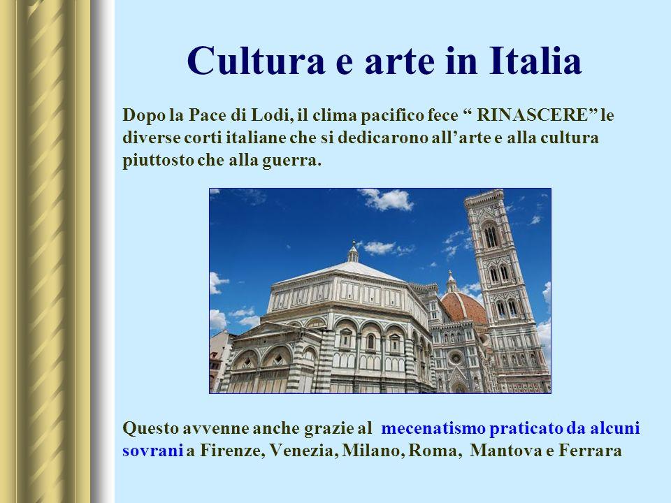 Cultura e arte in Italia