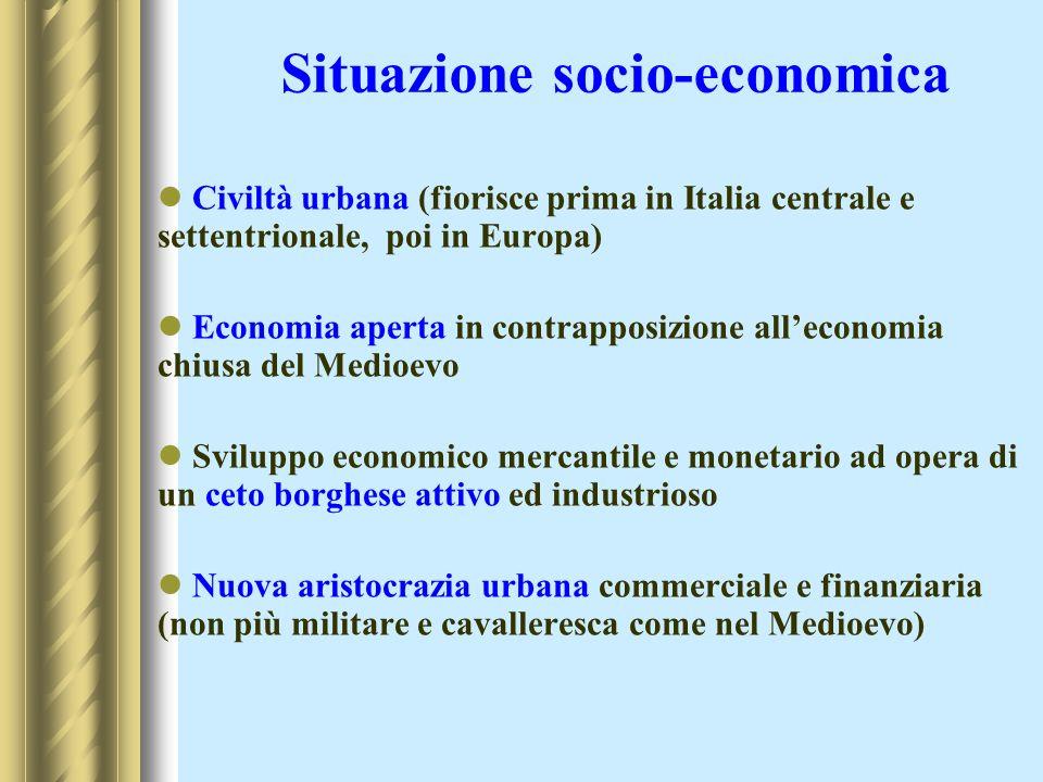 Situazione socio-economica