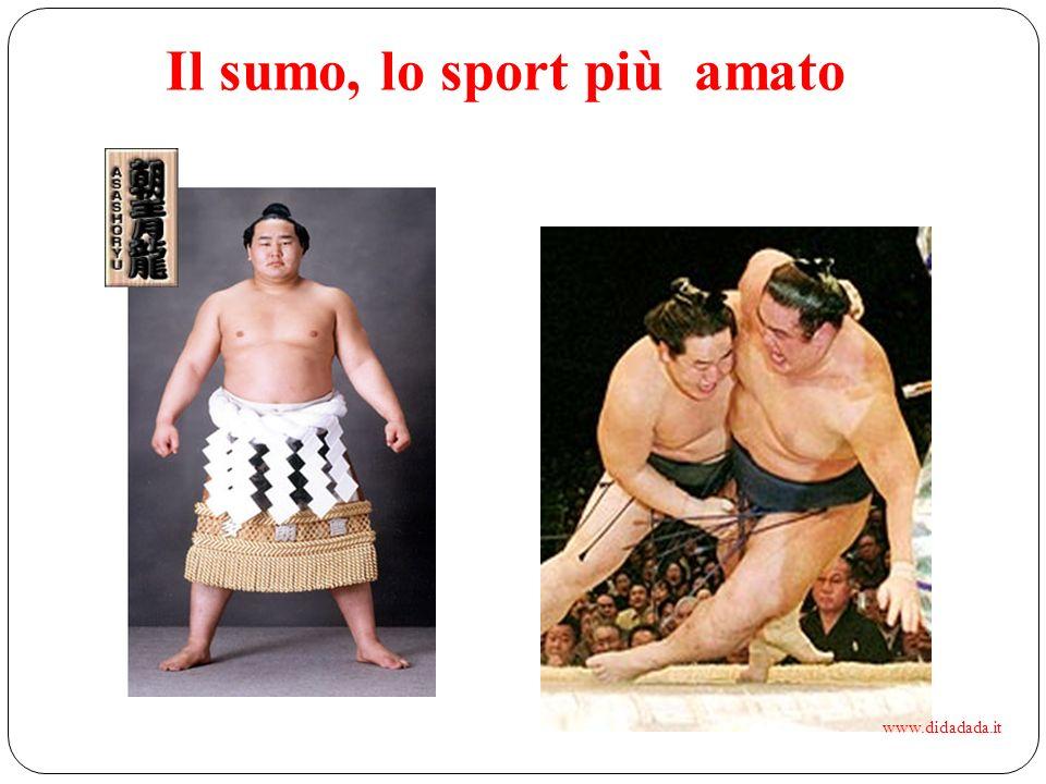 Il sumo, lo sport più amato
