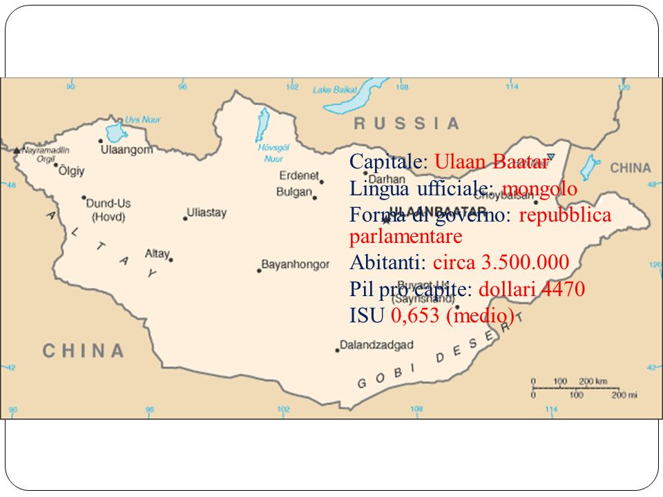 Capitale: Ulaan Baatar