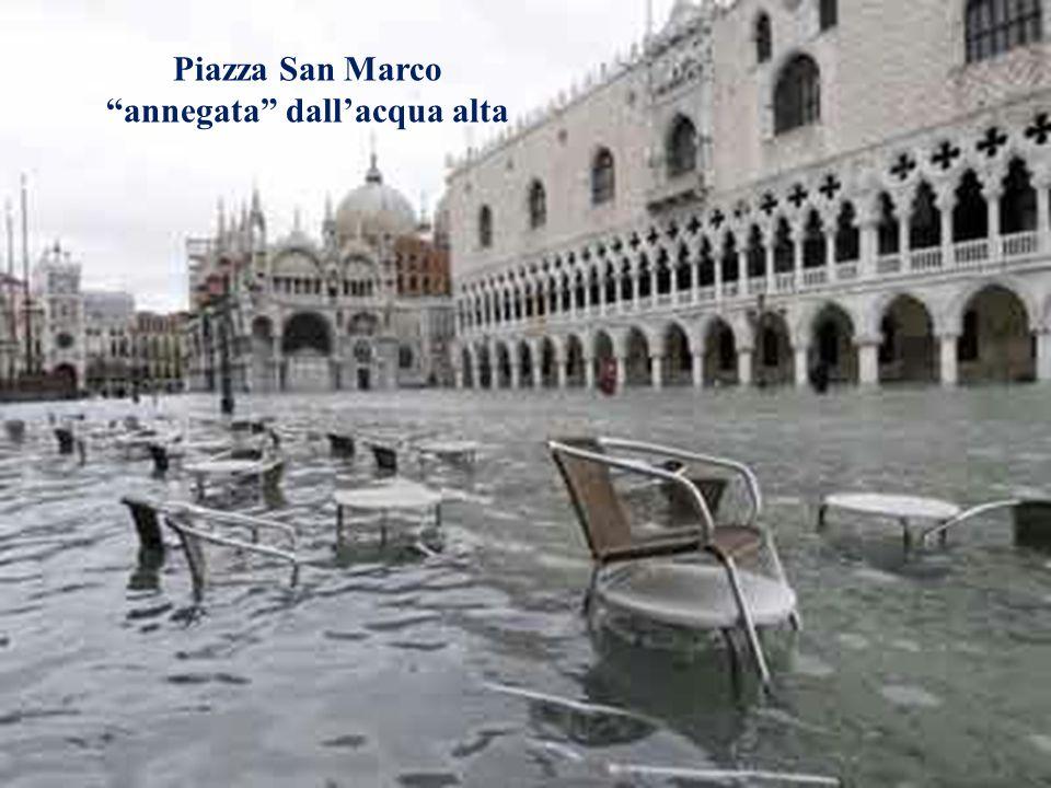 Il problema dell'acqua alta a Venezia