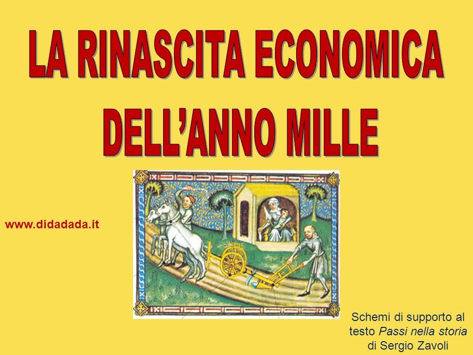 LA RINASCITA ECONOMICA DELL'ANNO MILLE