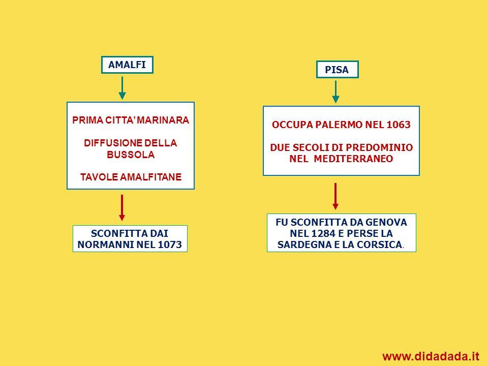 www.didadada.it AMALFI PISA PRIMA CITTA' MARINARA