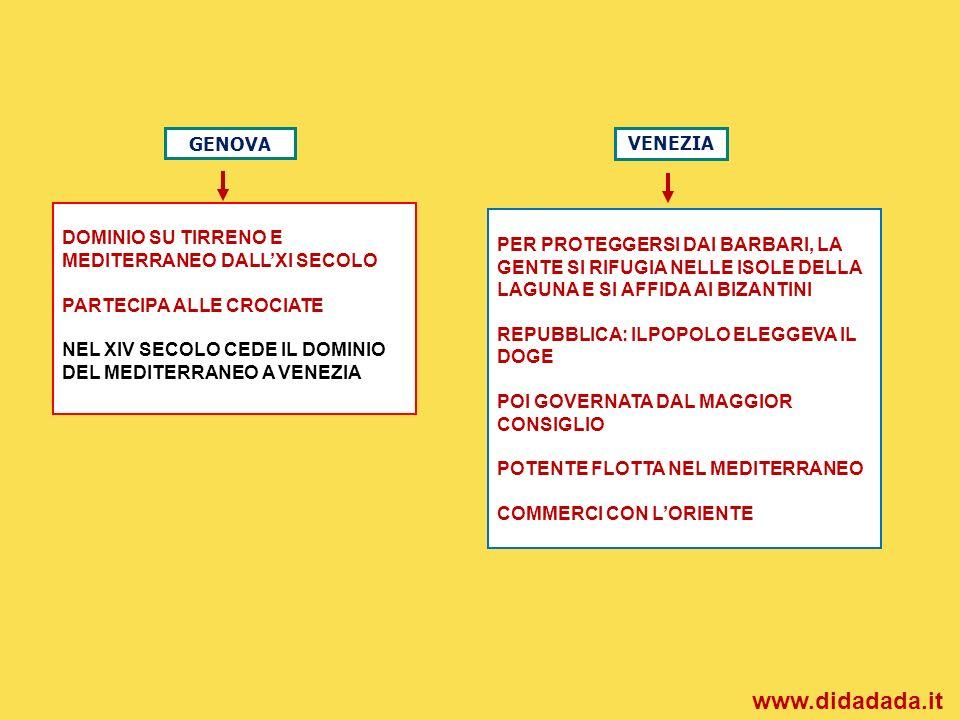 www.didadada.it GENOVA VENEZIA