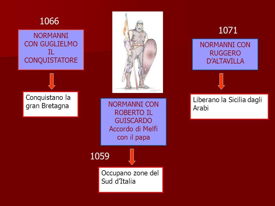 1066 1071 1059 NORMANNI CON GUGLIELMO IL CONQUISTATORE