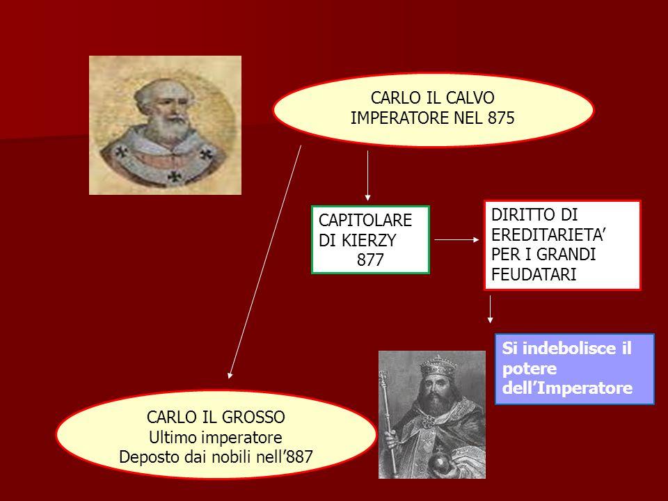 Deposto dai nobili nell'887