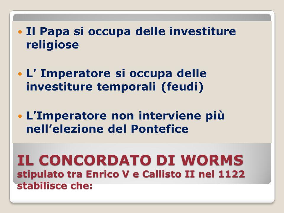 Il Papa si occupa delle investiture religiose