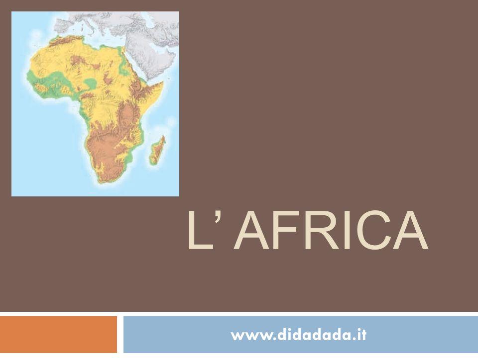 L' Africa www.didadada.it