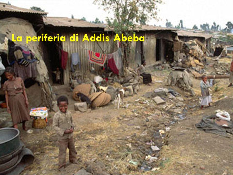 La periferia di Addis Abeba