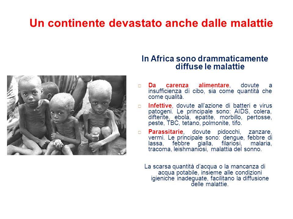Un continente devastato anche dalle malattie