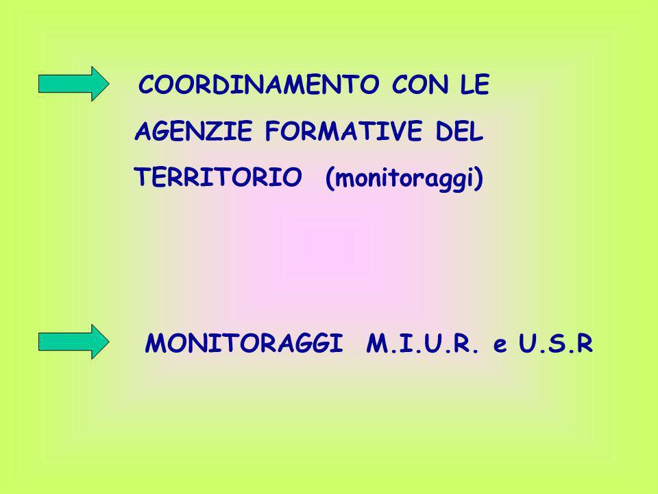TERRITORIO (monitoraggi)