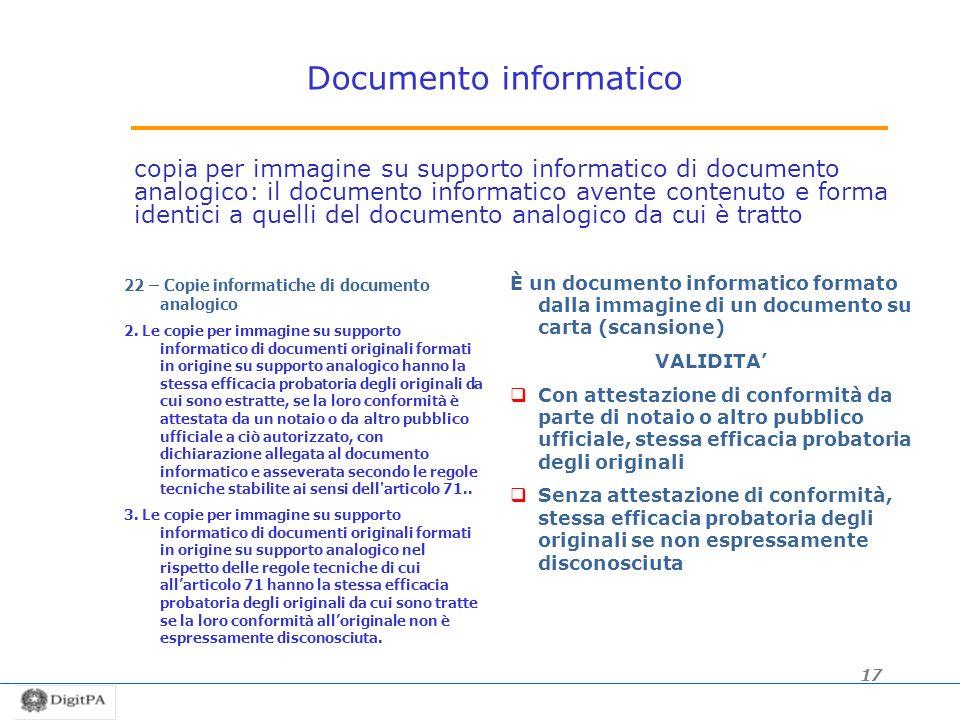 Documento informatico